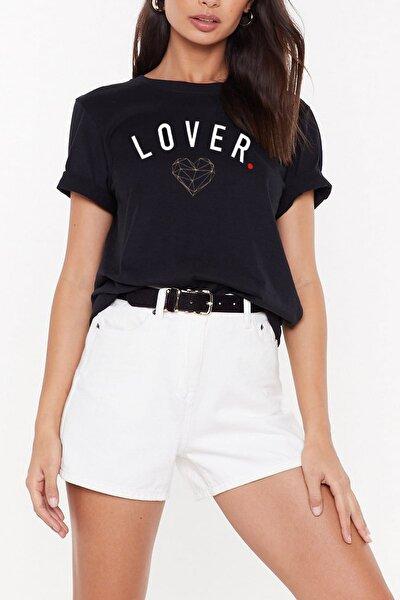 Kadın LOVER (Boyfriend Tee) WSL101
