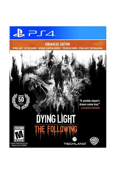 Dying Light The Following PS4 Oyun