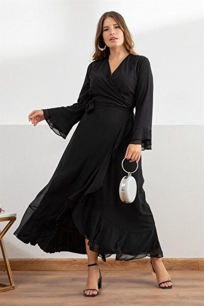 Kadın Siyah Aline Elbise fw01946eb