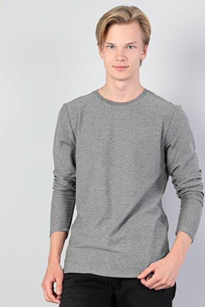 Gri Erkek Tshirt U.kol CL1045419
