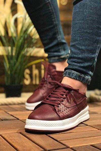 Bordo Erkek Sneaker CH043