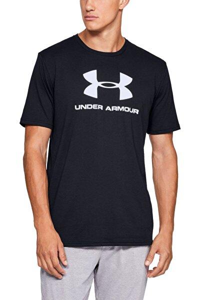 Erkek Spor T-Shirt - SPORTSTYLE LOGO SS - 1329590-001