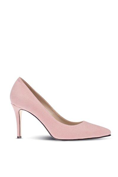 Pudra Kadın Klasik Topuklu Ayakkabı 02029ZPDRM01