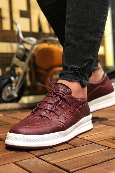 Bordo Erkek Sneaker CH040