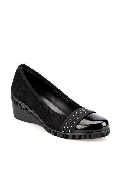 92.314096SZ Siyah Kadın Topuklu Ayakkabı 100421892