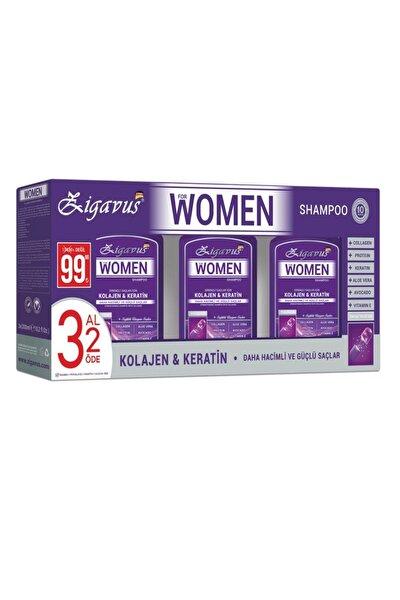 Women Kolajen - Keratin Şampuan 300 ml 3 Al 2 Öde - Sağlıklı Uzayan Saçlar  8699349130695
