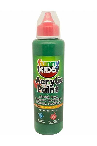 Funny Kids Akrilik Boya 500ml - 2710 Yeşil