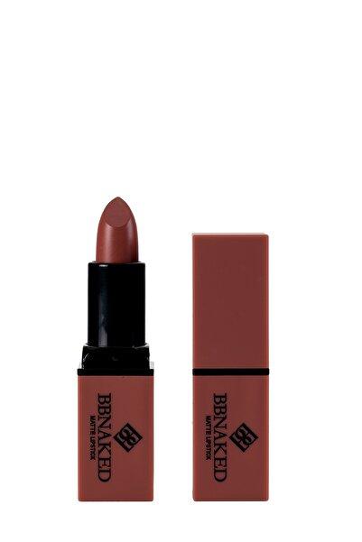 Mat Ruj - Matte Lipstick Kahverengi BBK-MLS06 BB Naked Professional Makeup 8682367009067