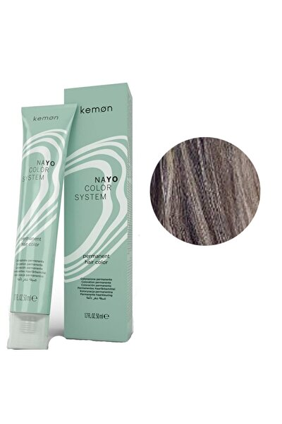 Amonyaksız Nayo Color 7,2 Kumral Bej Saç Boyası 50 ml 8020936048039