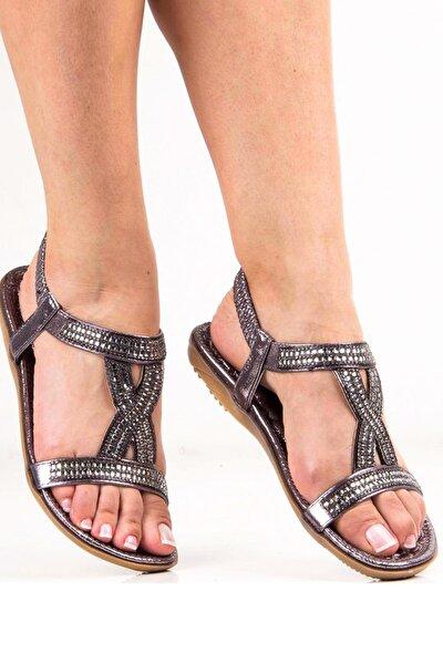 Gri Kadın Sandalet 292-19Y204-2