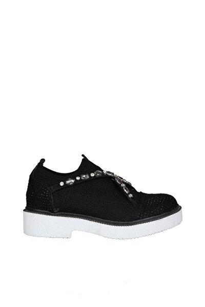 Siyah Kadın Klasik Ayakkabı 19Y423B0043-02