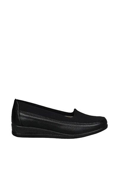 Siyah Kadın Klasik Ayakkabı 19Y423B0031-02