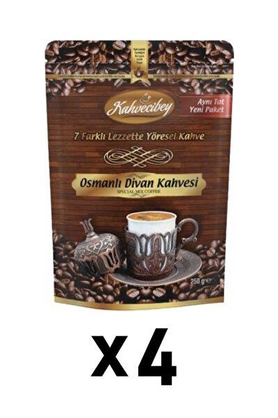 Osmanlı Divan Kahvesi 7 Karışımlı 4'lü Set - 250 gr