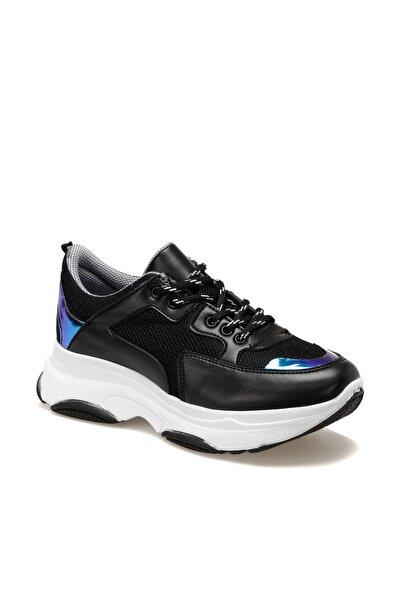 19SF-1502-19K Siyah Kadın Sneaker Ayakkabı 100481745
