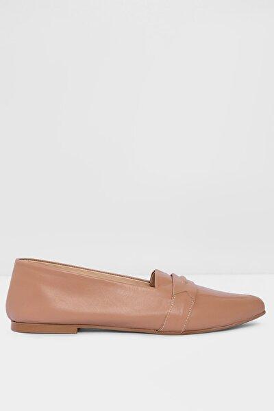 Hakiki Deri Naturel Kadın Klasik Ayakkabı 111612