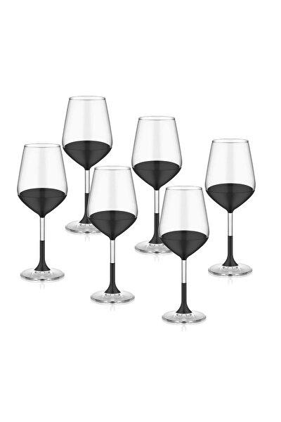 Dark Şarap Kadehi 6'lı Set