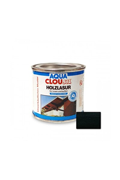 Aqua Sil Su Bazlı Ahşap Koruyucu 100 Ml - Nr 08 Siyah