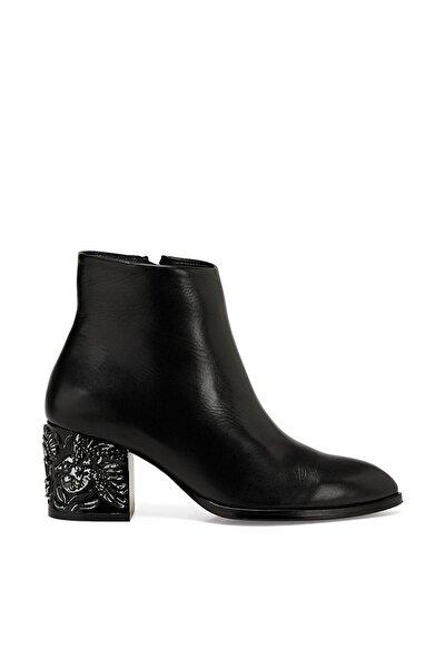 YAMA Siyah Kadın Topuklu Ayakkabı 100523593