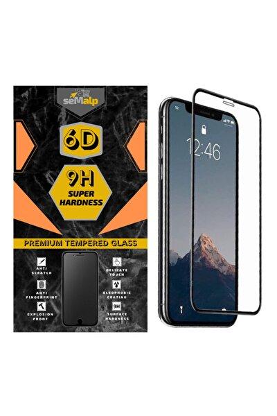 Iphone 12 / 12 Pro Uyumlu Tam Kaplayan Temperli 6d Tam Ekran Koruyucu