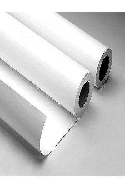 Mat  Beyaz Yapışkanlı Folyo  100 cm  x 8 mt