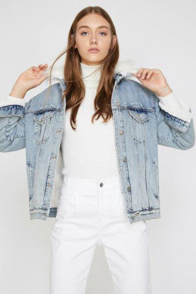 Kadın Mavi Ceket 0KAK57092MD