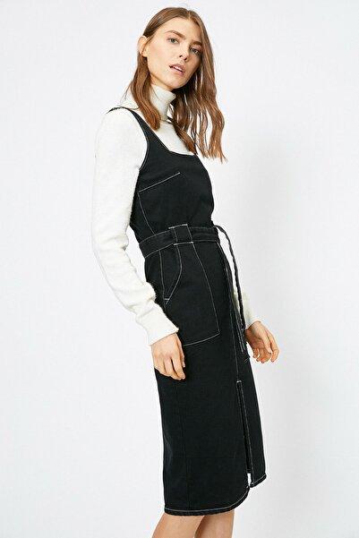 Kadın Siyah Elbise 0KAK87903OD