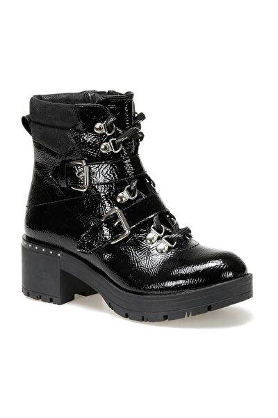 19K-335 Siyah Kadın Topuklu Ayakkabı 100440278