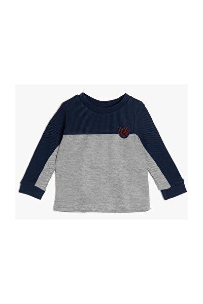 Gri Erkek Bebek T-Shirt