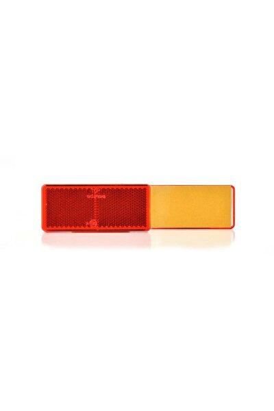 Kırmızı Kedi Gözü Reflektör 96x42 Mm Yapışkanlı