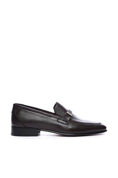 Hakiki Deri Kahverengi Erkek Klasik Ayakkabı 204 M-2053 K ERK AYK
