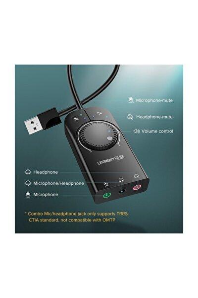 Usb Harici Stereo Ses Adaptörü 3.5 Çıkışlı