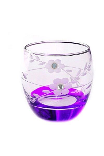 Paşabahçe 41010 Papatya Mor Taşlı  Barel Su-meşrubat Bardağı 6 Adet