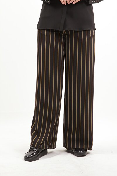 Çizgili Tesettür Pantolon