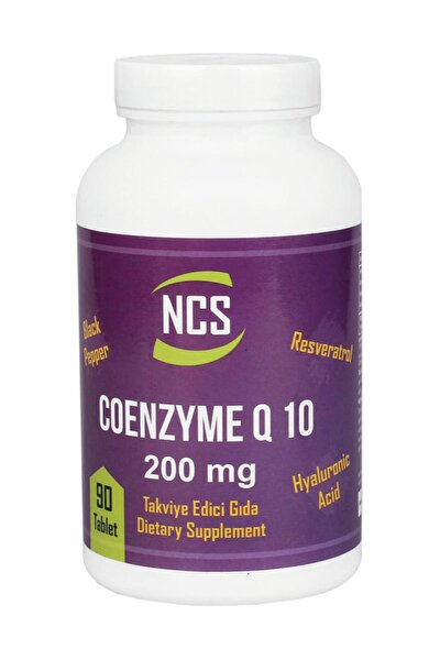 Coenzyme Q-10 200 mg 90 Tablet