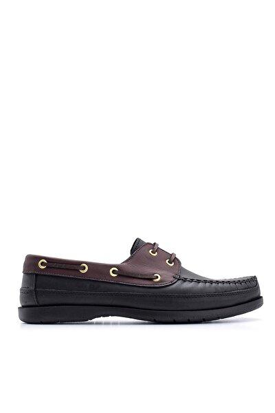 Hakiki Deri Siyah Erkek Casual Ayakkabı