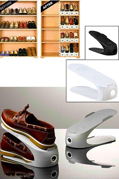 Yer Tasarrufu Sağlayan  Ayakkabı Rampası Organizer (3 Adet)