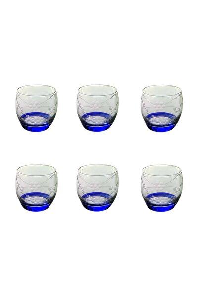 Paşabahçe 41010 Doğa Mavi Barel Su-meşrubat Bardağı 6 Adet