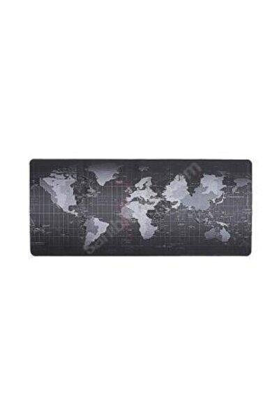 Gaming Mousepad Dünya Desenli 70 X 30 Cm