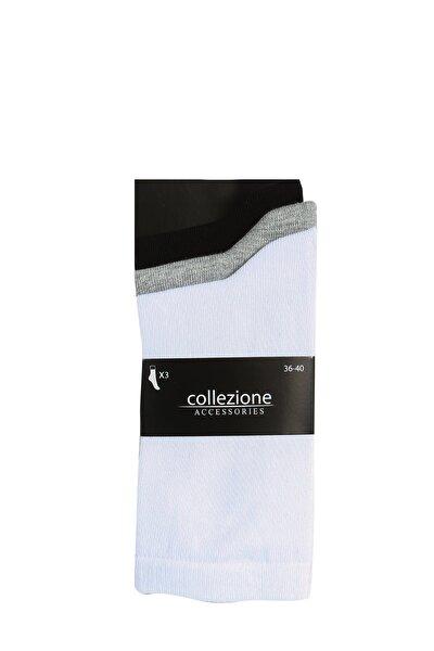 Kadın Mix Çorap Sencilo 3Lü Soket UCB390638A100