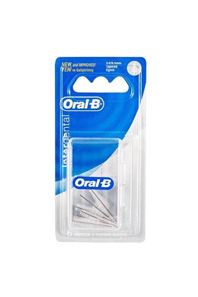 Arayüz Diş Fırçası Yedeği Eğimli 6'lı