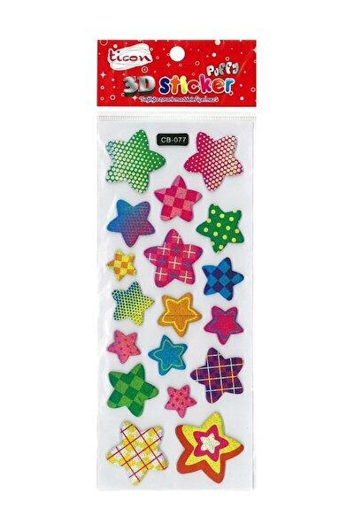 3d Sticker Puffy 177557 (kabartmalı) 3d-6