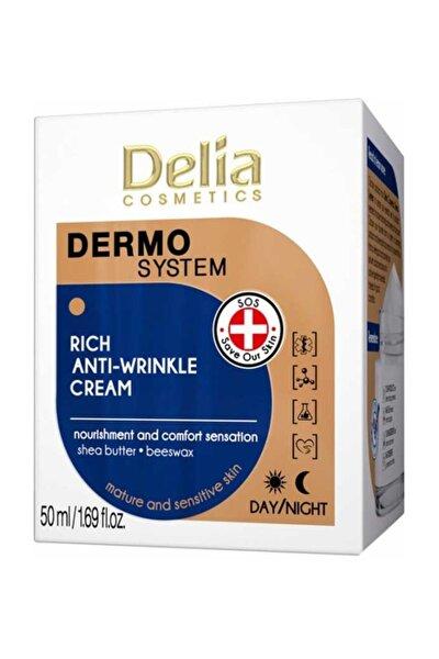 Zengin Kırışıklık Karşıtı Krem -  Dermo System Rich Anti Wrinkle Cream 50 ml