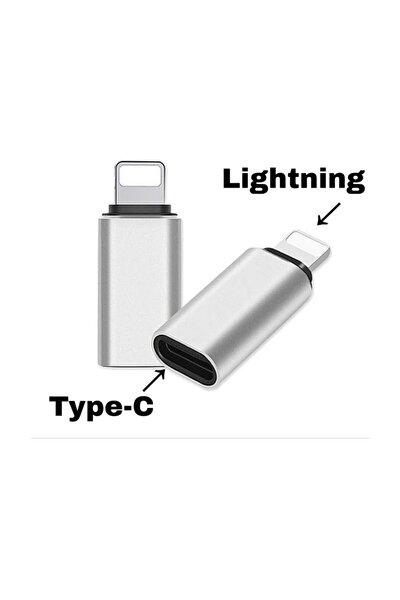 Iphone Uyumlu  Lightning To Type-c Çevirici Dönüştürücü Otg