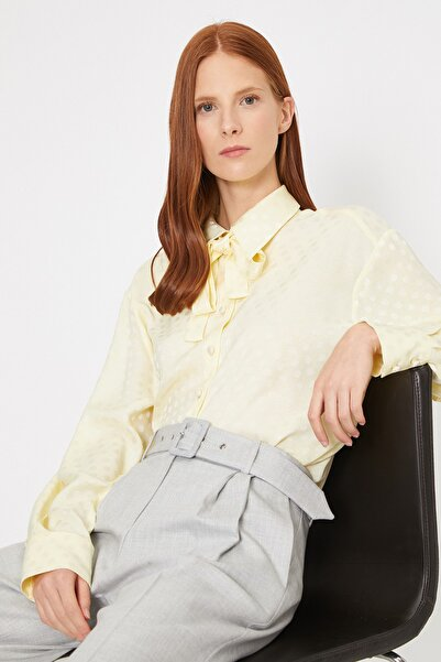 Kadın Sarı Gömlek 0YAK68250PW