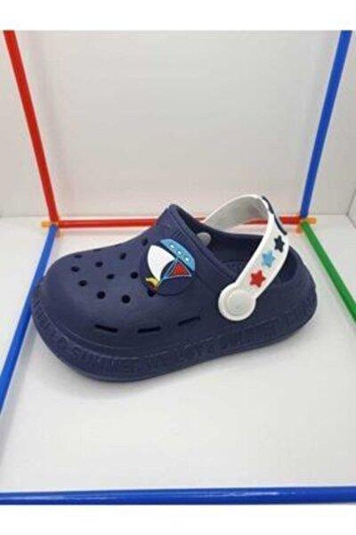 Çocuk Terlik Sandalet Summer Lacivert