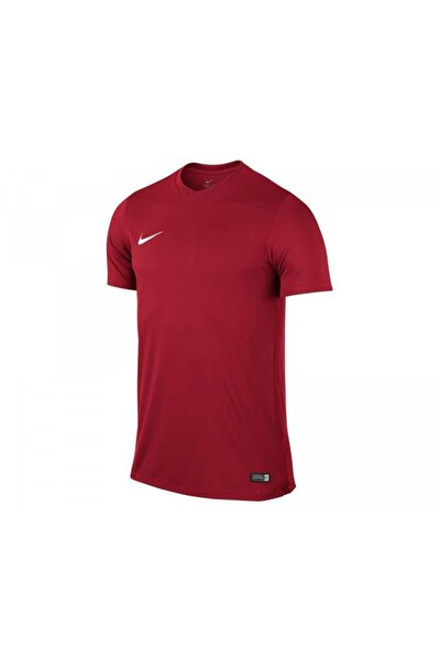 Unisex Çocuk Kırmızı Nike 725984-657 SS YTH PARK VI JSY T-Shirt