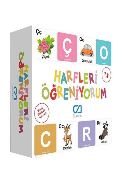 Eğitici Oyun Kartları Harfleri Öğreniyorum