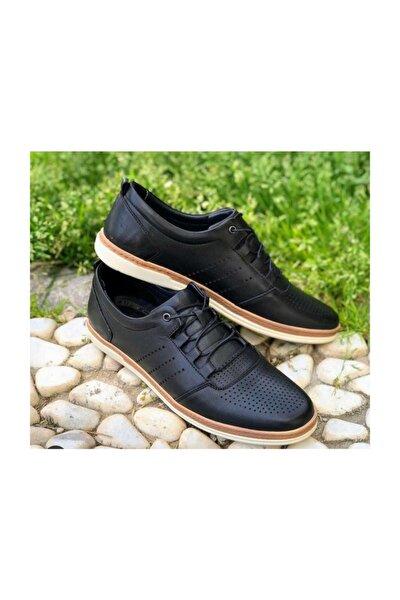 Hakiki Deri Erkek Günlük Ayakkabı Ygl4245mn