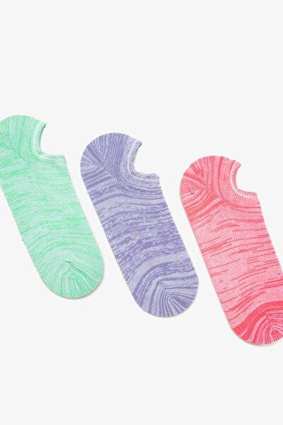 Kadın Pembe 3'lü Kadin Çorap 0YAK81201AA