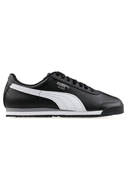Siyah Beyaz Spor Roma Basıc Ayakkabı  38,5